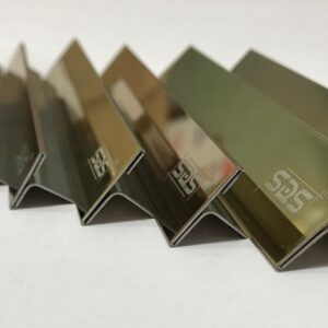 SDS Brand Stainless Steel Pvd Ti Color Coated Profiles