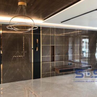 Surat Residential Project - T12 Gold Mirror